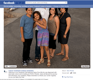 Facebook chats an excellent way to educate, engage fans, followers and patients -