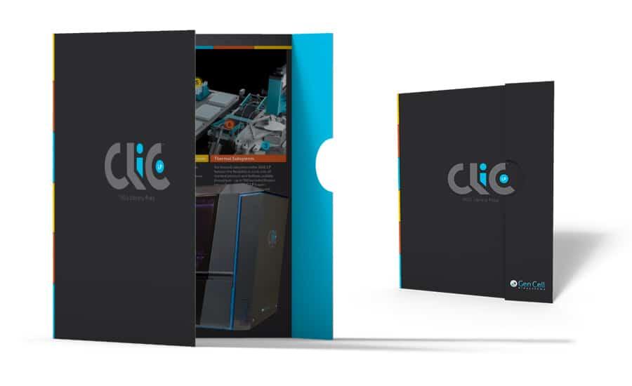 Clic Brochure Mockup