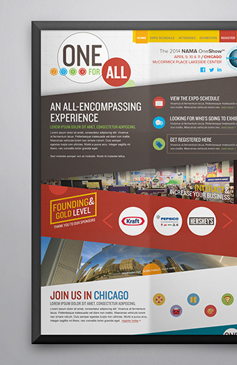 NAMA - Convention Website - Web Design - Web Development - Event Marketing