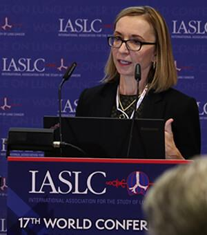 Team DJG worked with IASLC to organize four daily news conferences on breaking lunch cancer research in Vienna, Austria.