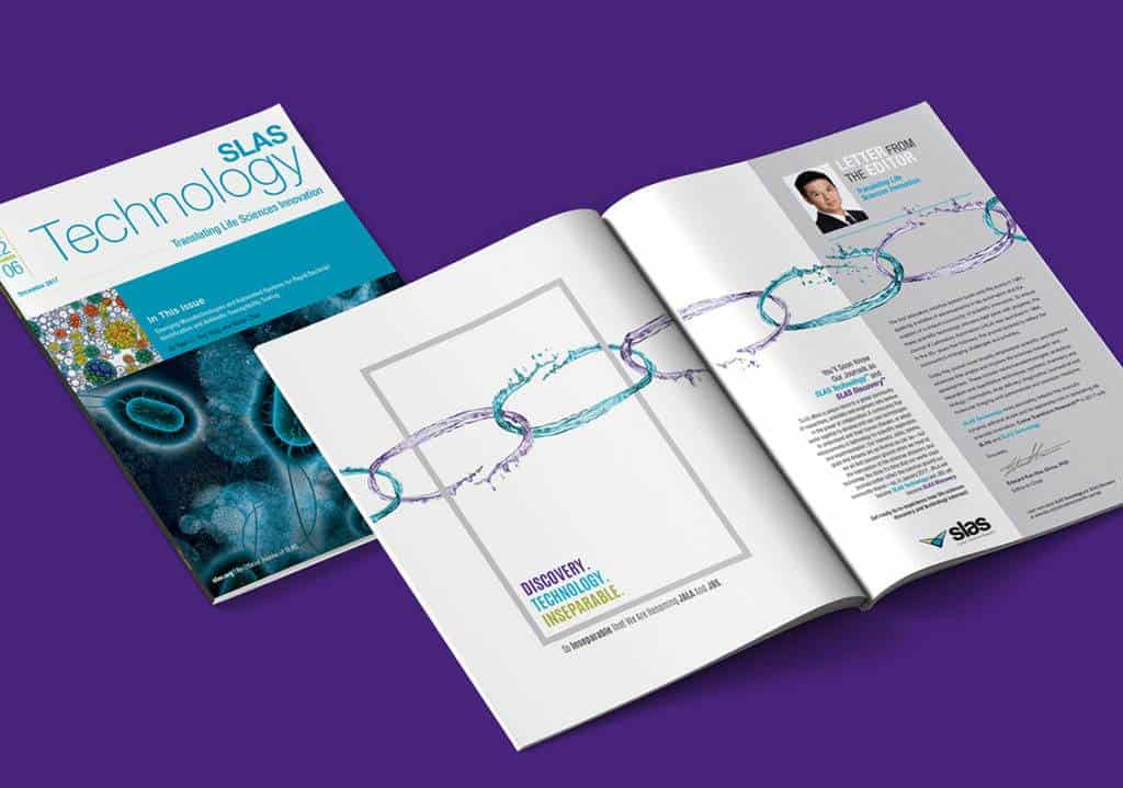 SLAS - Society for Laboratory Automation and Screening - Journal Rebranding - Brand Building