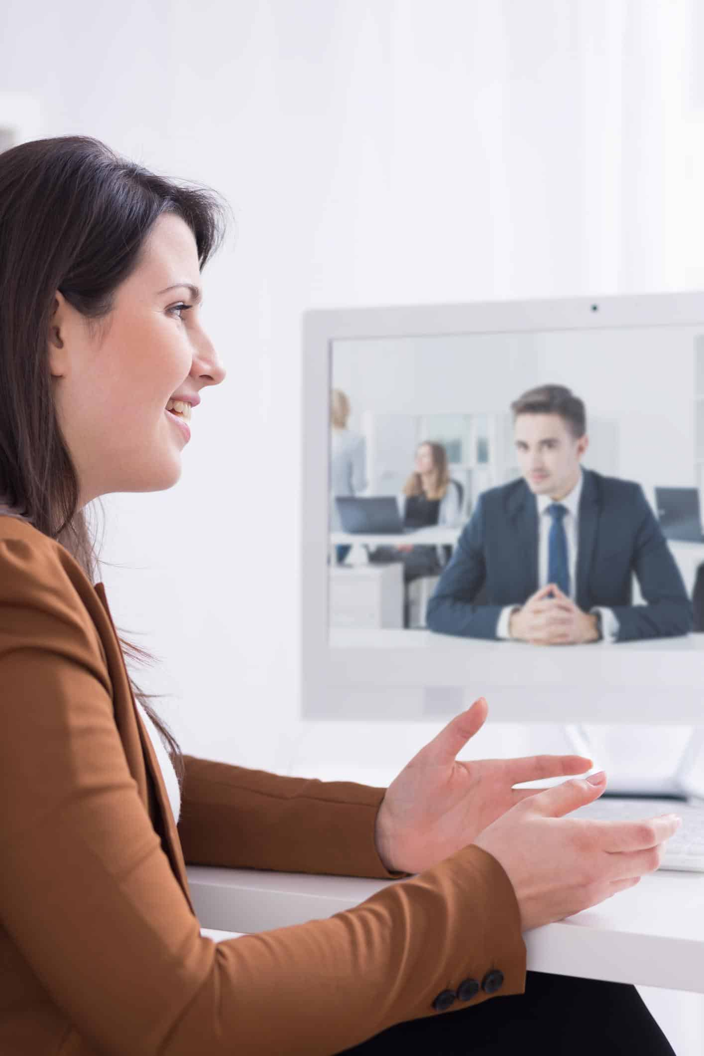 Tips for Your First Virtual Video Interview -