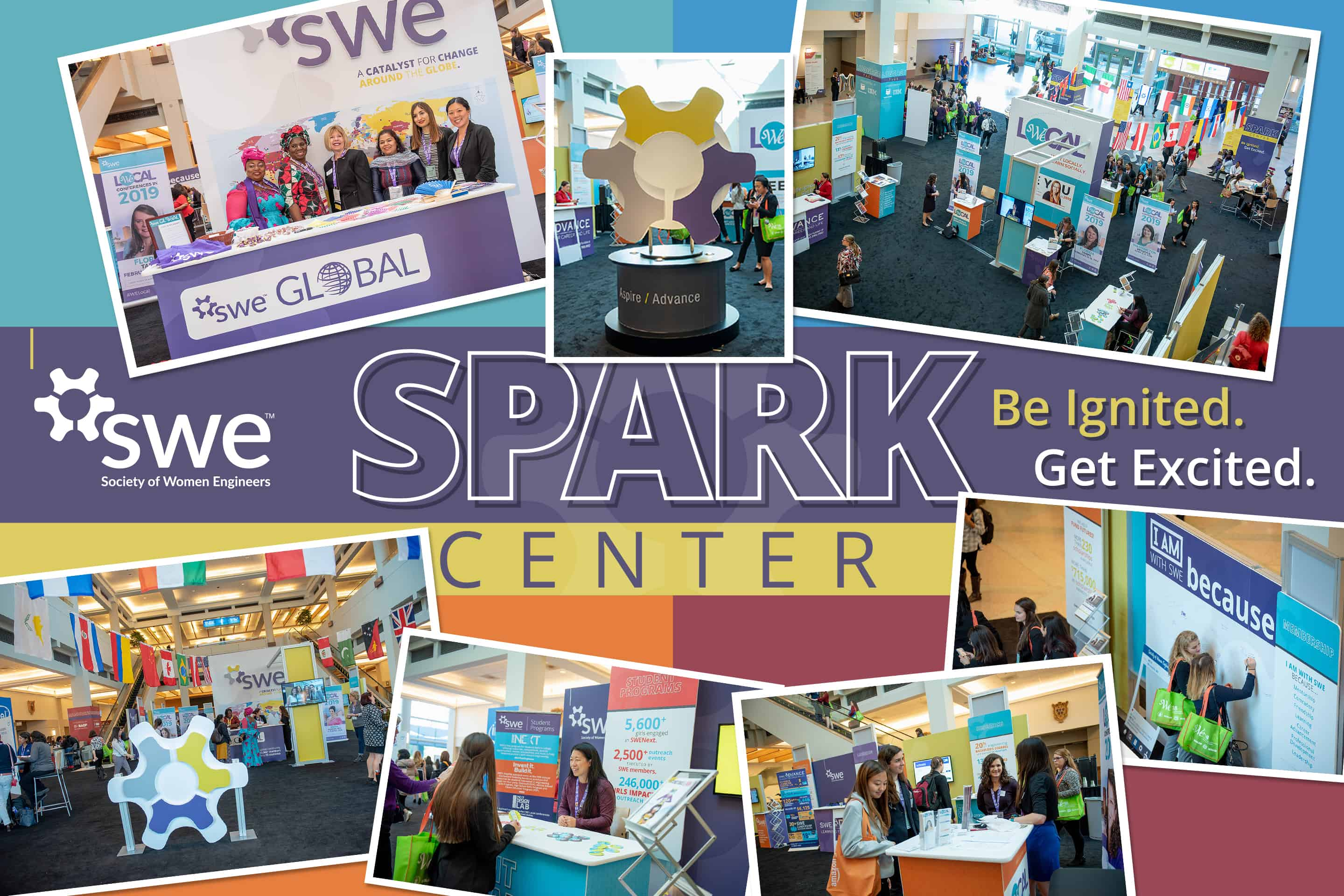 Event Marketing Society of Women Engineers WE conference Spark Member Center