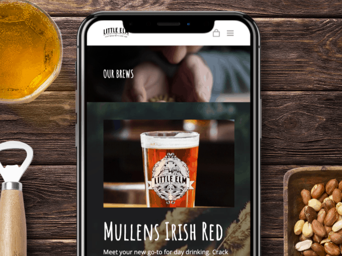 little elm brewing company, brewing websites, digital services