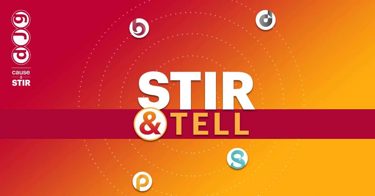 Stir and Tell Podcast