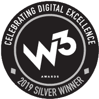 DJG Garners Three Content Creation W3 Awards from the Academy of Interactive and Visual Arts - W3 Award