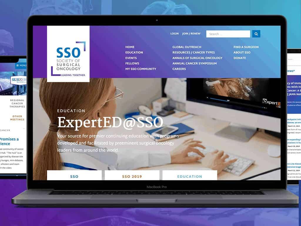 SSO: Website Category Winner | asae gold circle awards 2020